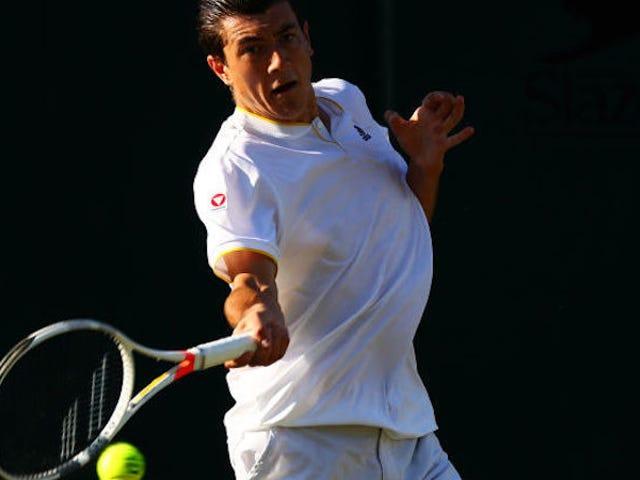 Guy, joka sai vakavan tenniksen sen jälkeen, kun lukio saavutti Wimbledonin kolmannen kierroksen