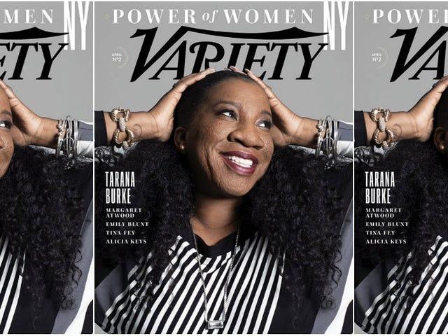 The Power of a Woman: Tarana Burke Covers Variety Magazine