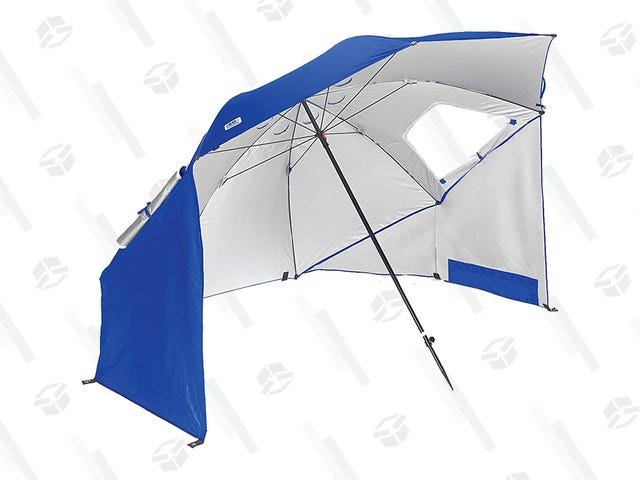 Be Ready for Warmer Weather With a Deal on the Ultimate Beach Umbrella