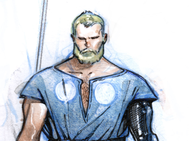 Check Out Thor's New 'Do in Ragnarok