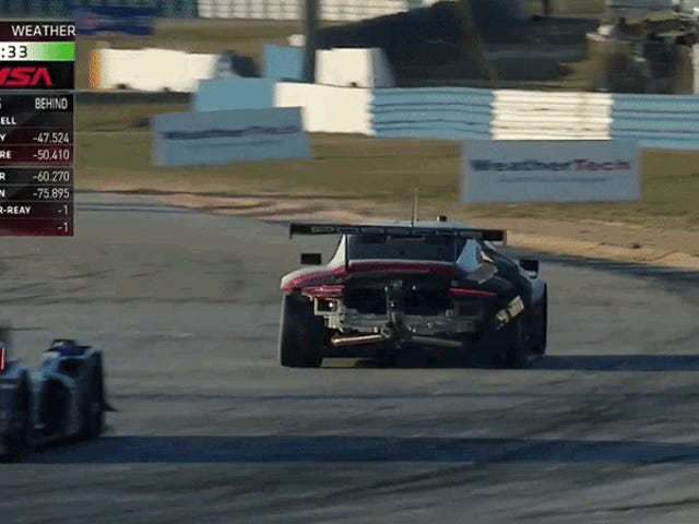 Sebring Oops Gives Us A Great Look In The Rear Of The Mid-Engine Porsche 911 RSR