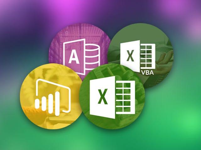 Save Hundreds On A Lifetime Of Advanced Microsoft Data Skills Training ($29)