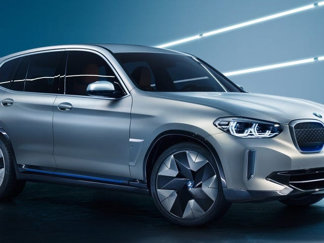 The BMW iX3 Concept: You'd Almost Never Know It's All-Electric