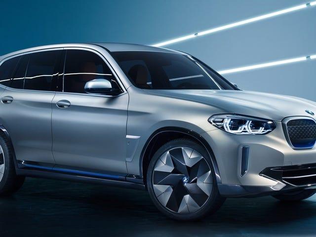 BMW iX3 Concept: Du vil næsten aldrig vide, at det er alt-elektrisk
