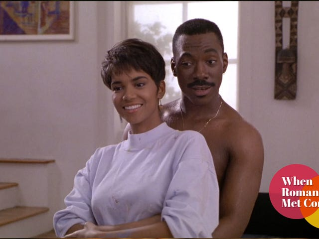 For one brief, wonderful moment, Eddie Murphy reinvented himself as a romantic-comedy star