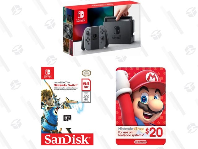 Surprisingly Enough, Prime Day Includes a Nintendo Switch Deal