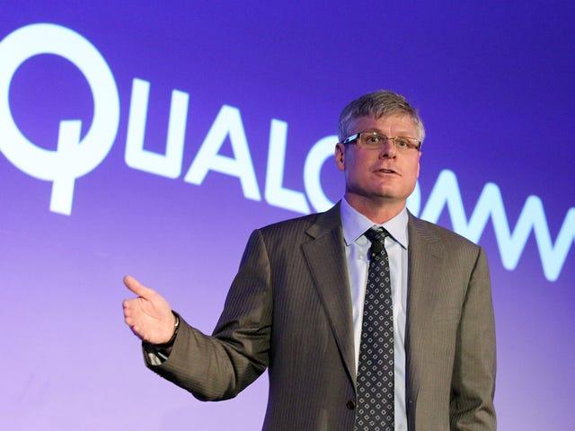 Qualcomm er en kinesisk producent af iPhone og tilbagekalder el-telefoner fra su mercado.  El litigio entre Qualcomm y Apple ...