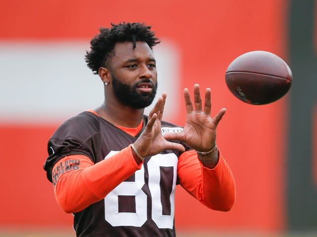 Jarvis Landry Spends 98 Seconds Cursing Out His Fellow Browns Receivers