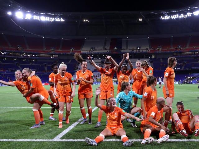 Нидерланды победят Швецию и встретятся с USWNT в финале Кубка мира среди женщин