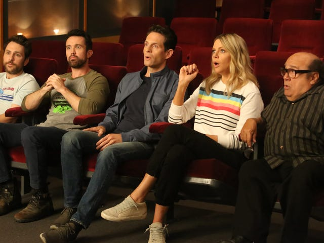 The gang says goodbye to It's Always Sunny for the season