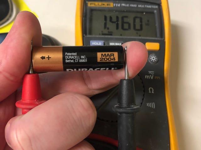15 year expired battery update
