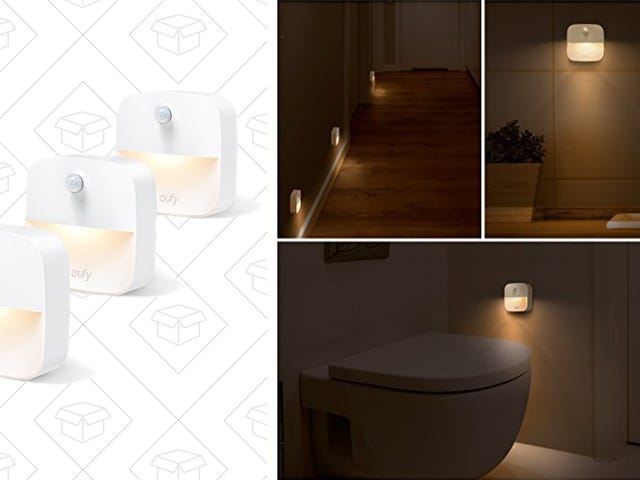 Two Different Types of Anker Night Lights Are On Sale Right Now