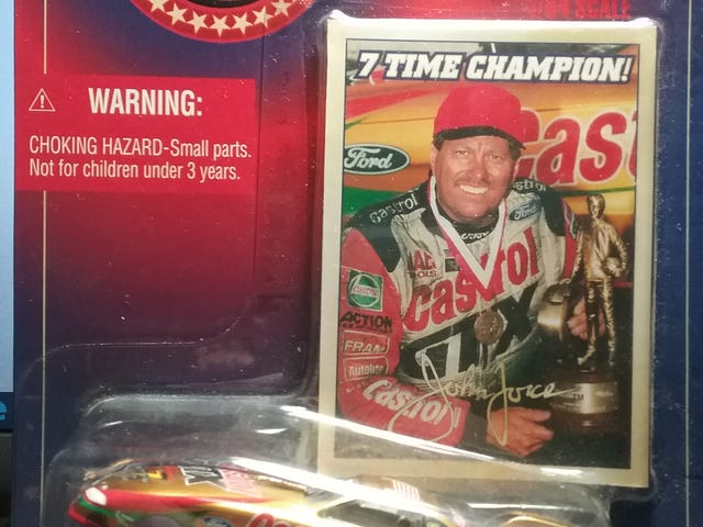 My First Ever John Force Diecast.