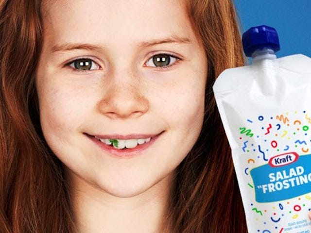 Dovresti dare al tuo bambino 'glassa di insalata'?