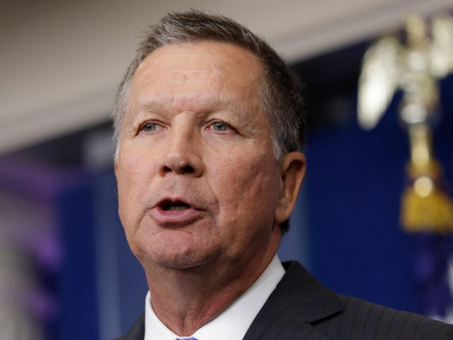 John Kasich Vetoes 'Heartbeat Bill' e Signs 20-Week Abortion Ban