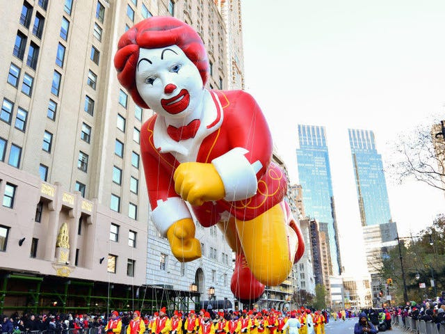 Why don't we see more of Ronald McDonald?