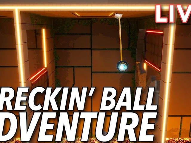 Jeśli wcześniej tęskniłeś za graniem we Wreckin 'Ball Adventure na Twitchu, oto archiwum YouTube