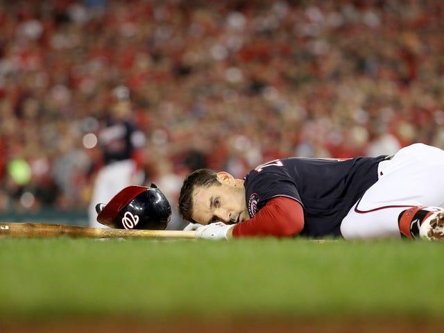 Nats invia il grande presidente bagnato alle World Series dopo aver fallito nel mandare a casa i corridori