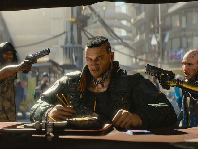 Cyberpunk 2077 Is A Violent, Impressive Blend Of Deus ExAnd The Witcher 3
