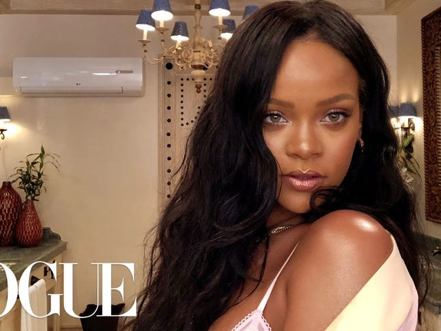 Our 'Best Friend' Rihanna Gives Us 10 Minutes of FaceTime With Fenty Beauty