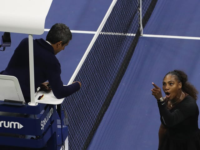 Serena Williams Hit With $17,000 Fine For Her Part Of U.S. Open Final Shit-Show