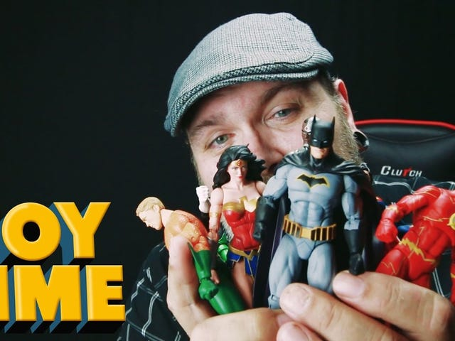 Toy Time joue avec DC Icons Justice League Rebirth Figurines d'action