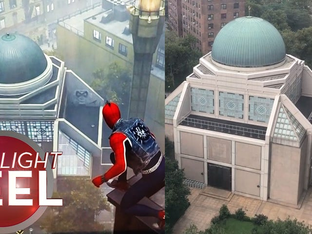 <i>Spider-Man</i> Mosque ser kjent ut