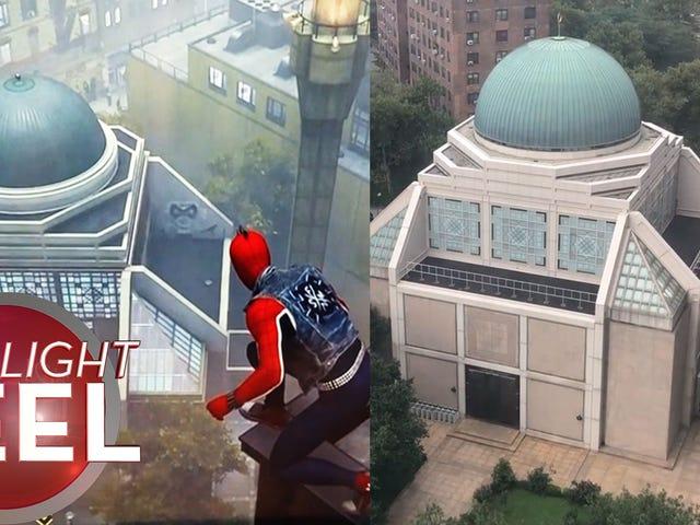 Masjid <i>Spider-Man</i> Tampak Akrab