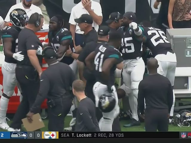 Doug Marrone And Jalen Ramsey Are Already Screaming At Each Other On The Sideline