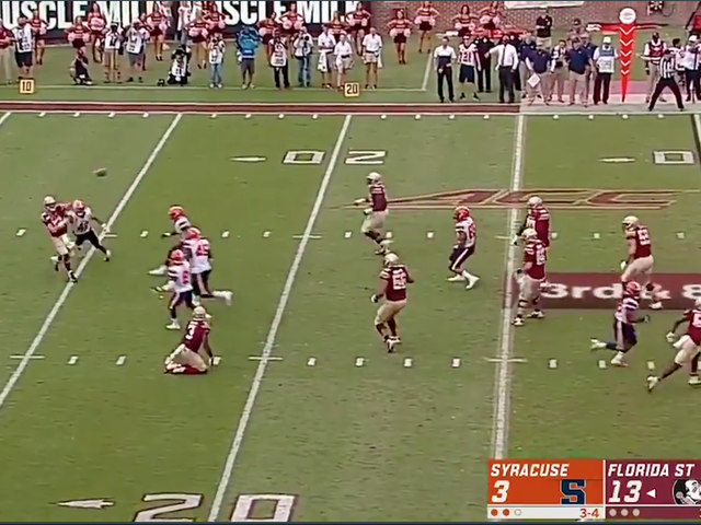 Florida State Deploys Some Form Of Witchcraft To Save Broken Trick Play
