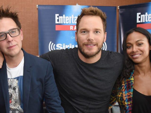 Einige der größten Namen von Marvel scheinen ein Memo zu haben, um den Direktor James Gunn öffentlich zu verteidigen