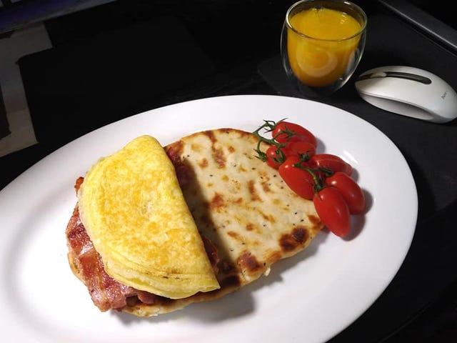 It's breakfast time,