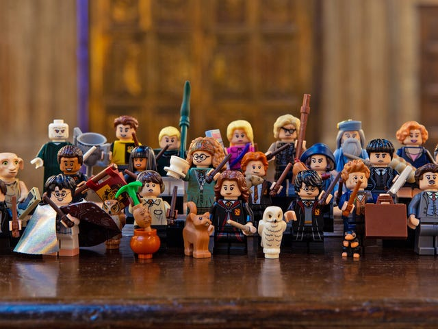 Lego's Next Minifigure Collection Is a Harry Potter Treasure Trove