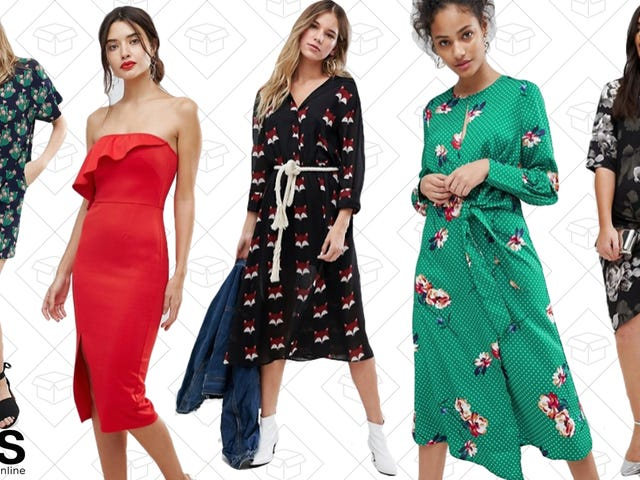 Get Your Spring Dresses for Up to 60% Off at ASOS