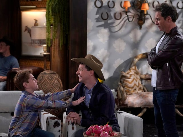 Tonight's Will & Grace promises cowboy hats and musical numbers