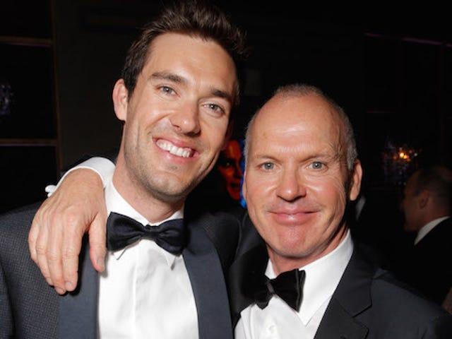 Michael Keaton's Son Wins Most Bangable Son at the Golden Globe Awards