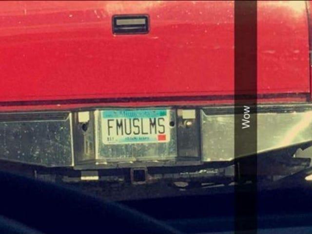 ミネソタ州の役人は「FMUSLMS」の虚栄心のナンバープレートを取り消します