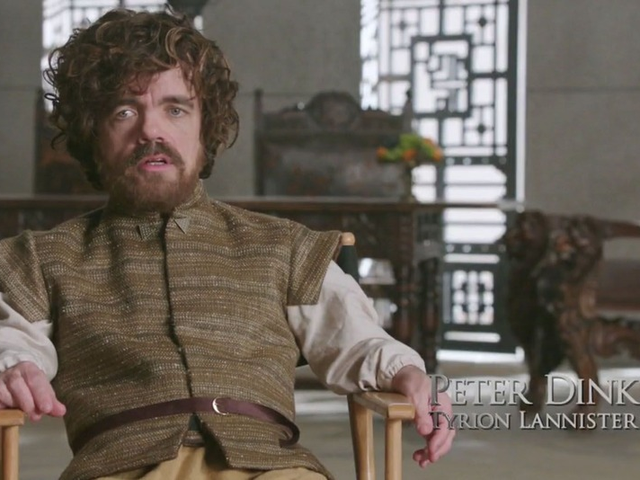 Peter Dinklage Showed Off Some Behind the Scene Drama of Game of Thrones