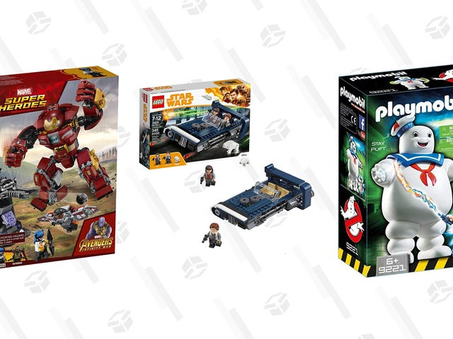 Stock Up On LEGO and Building Blocks For Christmas During Today's Gold Box