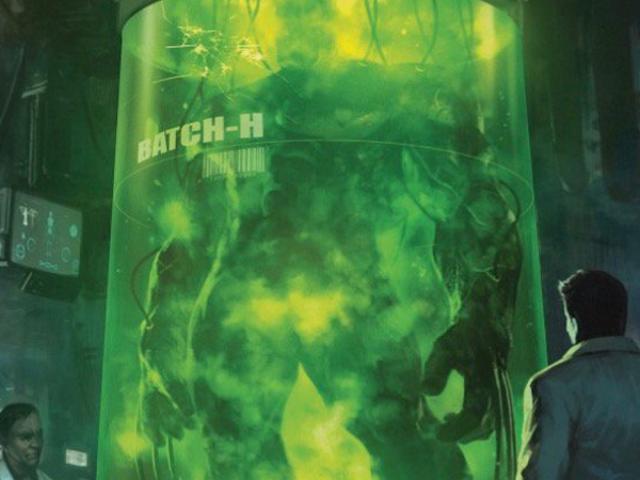 Hvad på jorden er underligt at drille med dette mystiske Hulk / Wolverine billede?