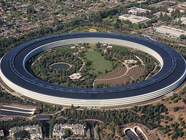 El gobierno tasó unas propiedades de Apple en mil millones de dólares. Apple dijo que no, que valen 200 dólares