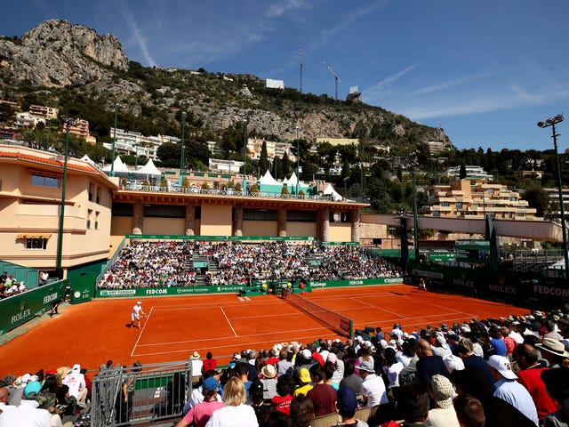 Every Photo From The Monte-Carlo Masters Is Comically Decadent