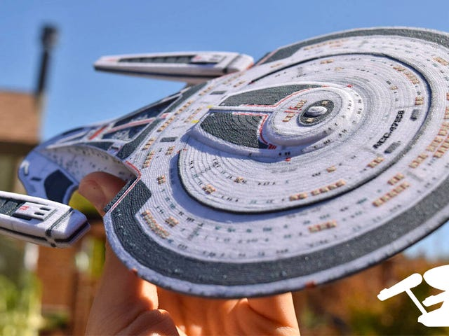 Build Your Own Starfleet With These Customized 3D-Printed Star Trek Ships