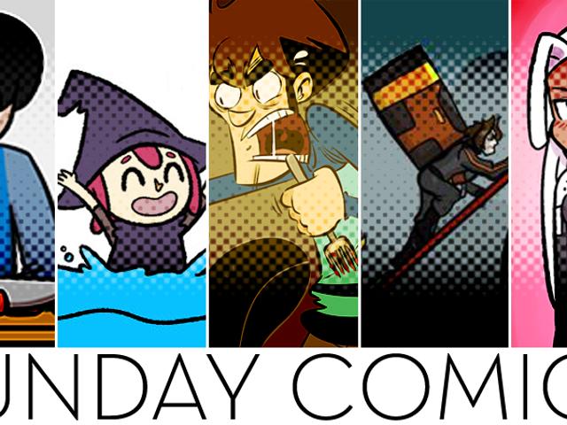 Sunday Comics: Tell Me A Joke