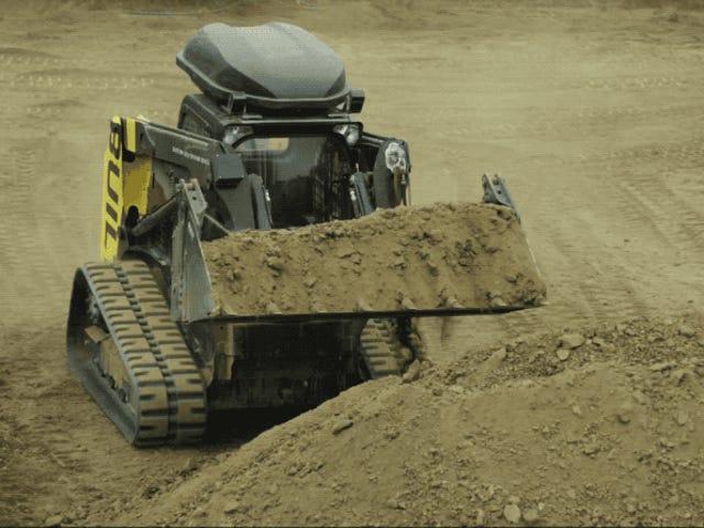 Este bulldozer autónomo puede excavar cimientos con precisión en el mismo tiempo que un equipo de operarios