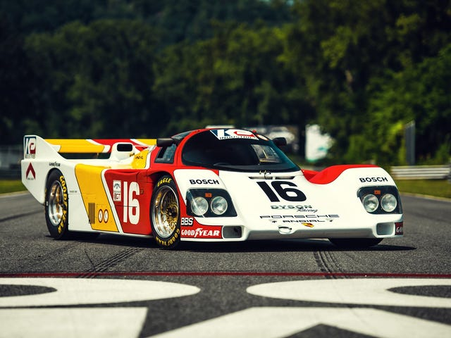 Porsche 962-101 Behind the Scenes Video