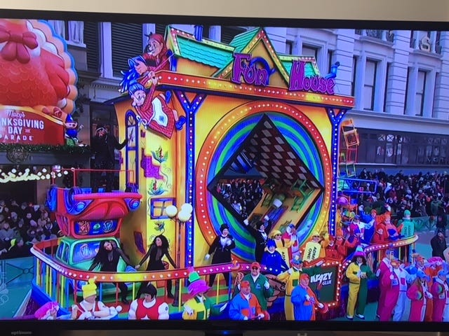 Is anyone else watching the Macy's Thanksgiving Day parade? My observations