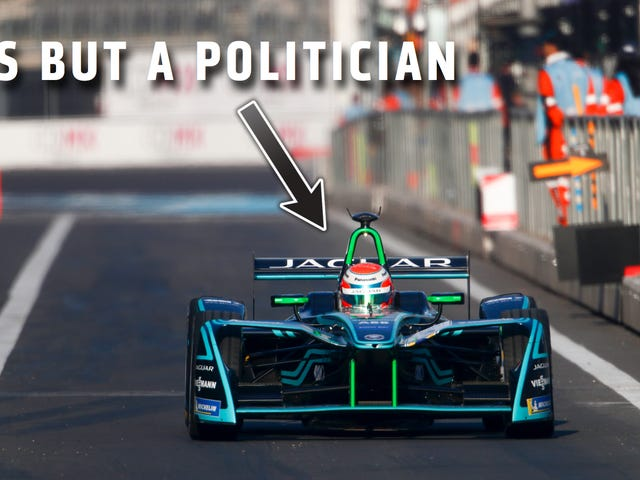 New York's Governor Will Drive A Formula E Car To The Auto Show (Probably Because The Subway Doesn't Work)