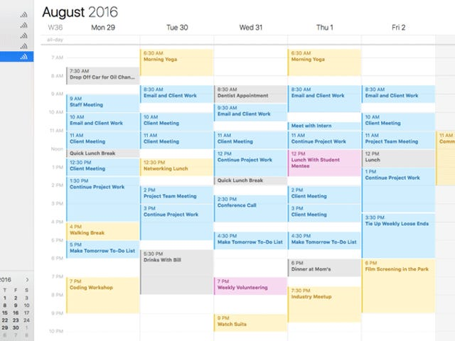 Avoid Calendar Overload By Keeping Optional Events Separate