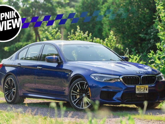 The 2018 BMW M5's 600 HP Will Clear All Thoughts From Your Mind With Speed